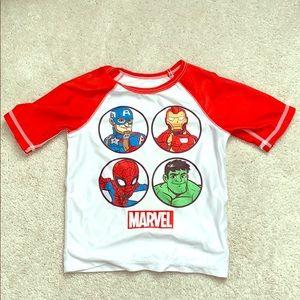 Marvel rashguard